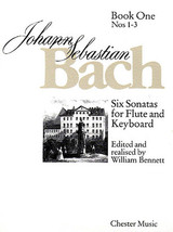 6 Sonatas for Flute and Keyboard Book One (Nos. 1-3) - $19.95