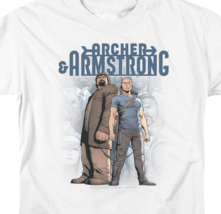 Archer & Armstrong T Shirt Valiant Comics 1990s comic book graphic tee VAL208 image 2