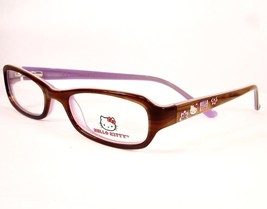 Hello Kitty 242 Brown 1 47-17-135 Girls Children New Optical Eyeglasses - $59.37