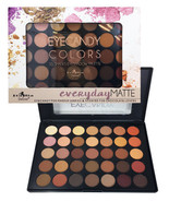 Italia Deluxe 35 Colors Shades Natural Matte Eyeshadow Palette - $13.32