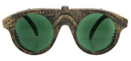 SteamPunk Cosplay Machinist Forgeman Glasses Green Lens - $14.50