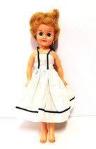 1958 Vogue Jan Doll Blonde Hair Original Dress with Clothes - $21.39