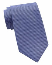 Kenneth Cole Mens Textured Self-tied Necktie (Purple) - $30.30