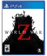 World War Z - PlayStation 4 [video game] - $54.05