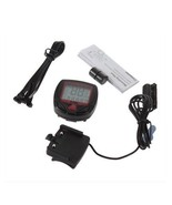 Bike Bicycle LCD Computer Odometer Speedometer Waterproof 15 Functions AH2 - $5.99