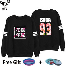 BTS Sweatshirt Women Korean Idol Team Fans Casual Capless Women Hoodies ... - $16.40