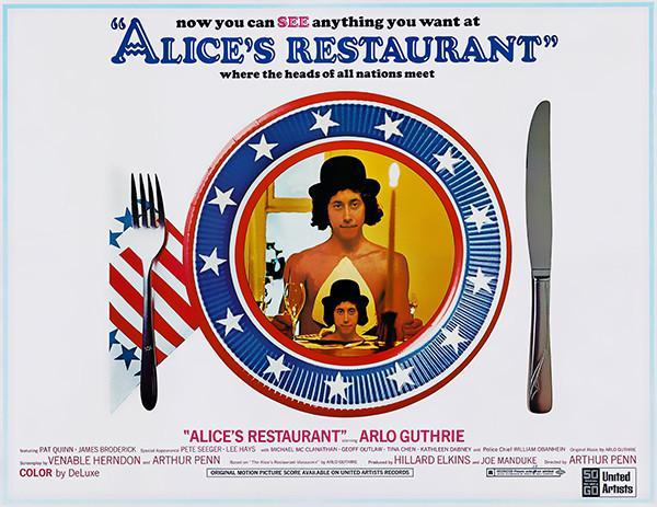 Primary image for Alice's Restaurant - 1969 - Movie Poster