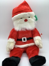 "Ty Beanie Buddies Santa Soft Plush 14"" Christmas Stuffed Tylon Toy w/ Ta... - $14.25"