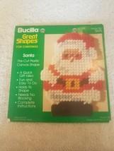 Bucilla Santa Pre-Cut Plastic Canvas Shape  - $20.46