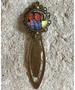 Personalised Photo Flower Bookmark, Bookmark,personalised, Mothers Day g... - $8.50