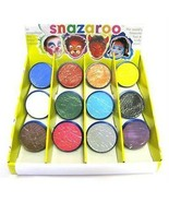 Snazaroo Light Beige 18ml Tubs, Face Paint, Make-Up #CA - $5.83