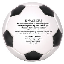 Personalized Full Size Soccer Ball To Our Daughter, Son, Granddaughter, ... - $59.95