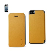 REIKO IPHONE SE/ 5S/ 5 FLIP FOLIO CASE IN GOLDENROD - $7.76