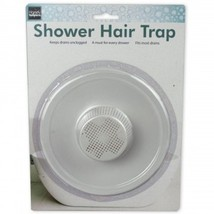 "5"" Durable Plastic Shower Drain Hair Trap - Helps Keep Drains Unclogged - $5.99"