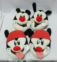 AS IS 2 Vintage 90s Animaniacs Yakko Wakko Adult Mens Size 5-6 Slip on S... - $39.99