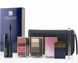 Estee Lauder Travel in Color Makeup Palette Set with bag, cosmetics giftset - $58.99