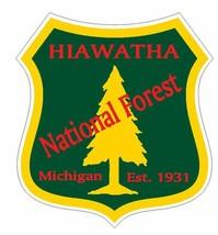 Hiawatha National Forest Sticker R3245 Michigan You Choose Size - $1.45+