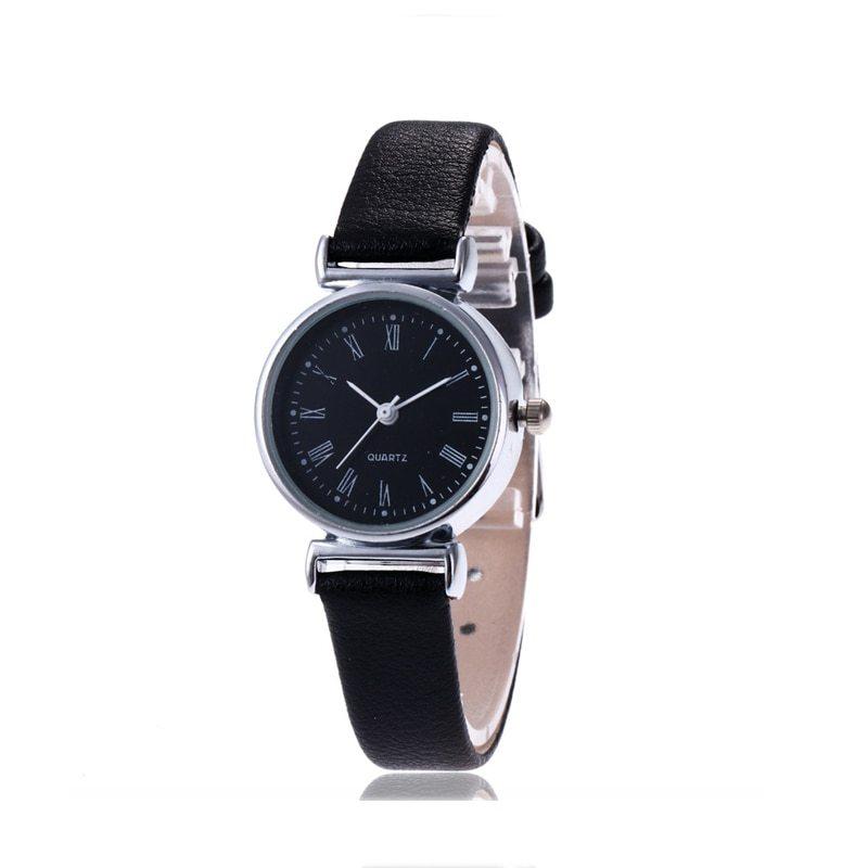 New Luxury Brand Women Watch Ultra Thin Vintage Leather Band Quartz Watch Fashio image 5