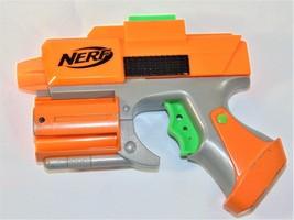 Nerf Orange Crossfire Sidearm Pistol Dart Tag Gun Strikefire Blaster  - $5.94