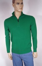 Polo Ralph Lauren Men's Green Italian Cashmere Pullover Half Zip Sweater... - $87.99