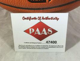 BEN SIMMONS / PHILADELPHIA 76ERS / AUTOGRAPHED FULL SIZE NBA BASKETBALL / COA image 6