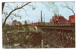 Kobuta Steel Ohio P&LE Railroad Train artist Howard Fogg postcard - $5.94
