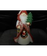 """Candle Impressions """"Olde World Santa Wax LED Illuminated Flameless"""" 9""""H NEW - $32.62"""