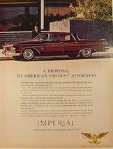 1962 Chrysler Imperial Crown Four Door Southhampton Attorney & office Pr... - $9.99