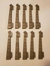 Lot of (10) 1977 Playmobil Castle Wall End Buttress Connector 3666 - Vin... - $7.95
