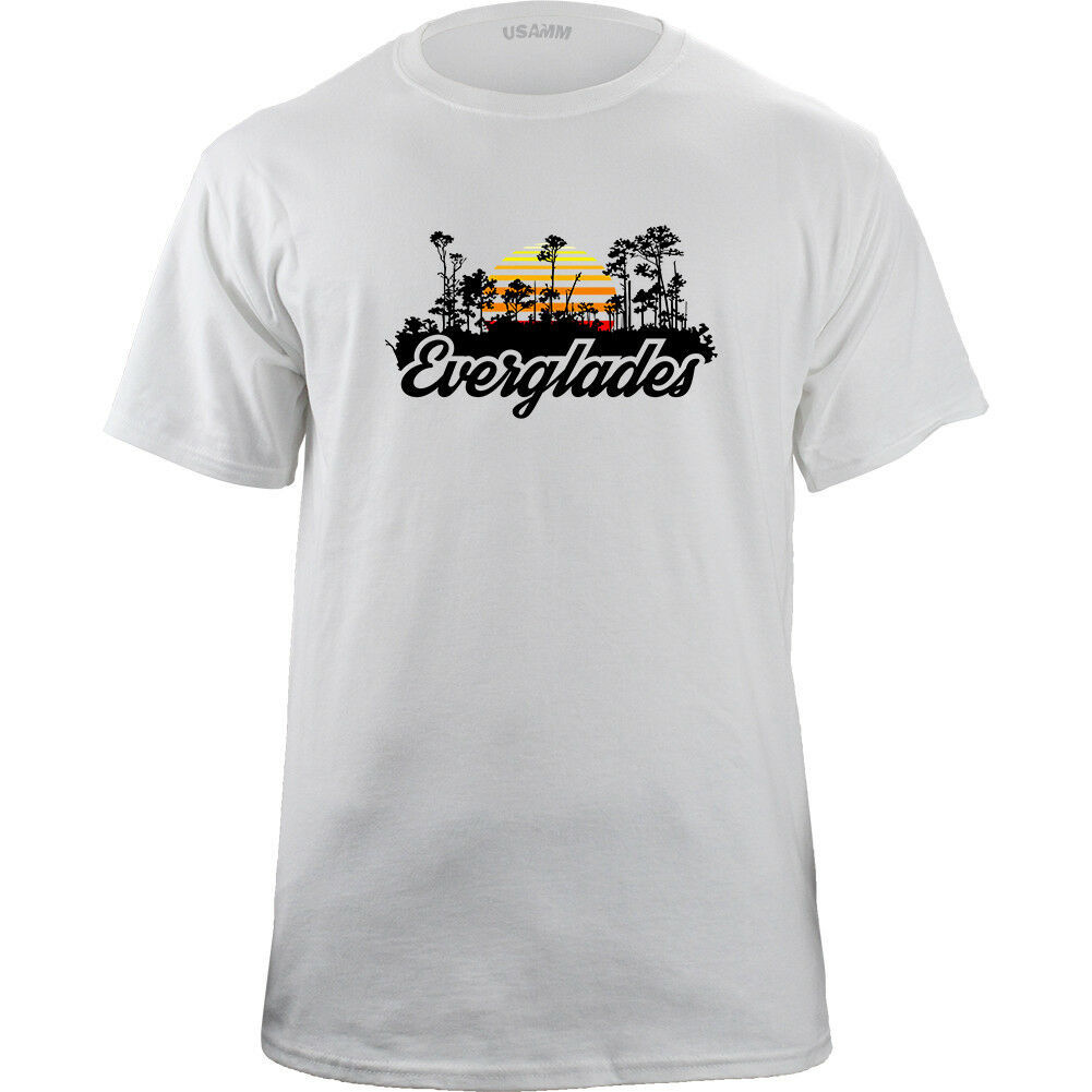 Retro Florida Everglades National Park 80's T-shirt image 4
