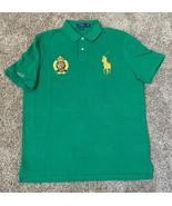 Polo Ralph Lauren Men's Classic-Fit Flag Crest Gold Big Pony Polo Shirt ... - $74.79+