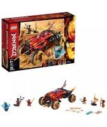 Brand New LEGO Ninjago 70675 Katana 4x4 Ninja Toy Truck Building Kit - $37.99