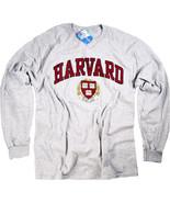 Harvard Shirt Long Sleeve T-Shirt Crewneck University Gifts Womens Mens ... - $19.99