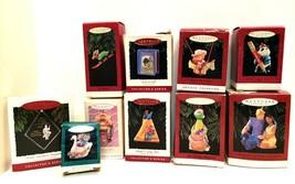 Hallmark Keepsake Ornaments Ten 1995 Mixed Lot Some Collectors Series  - $42.57