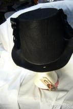 Bethany Lowe Haunted Raven Crow Halloween Top Hat no. RL2899 image 2