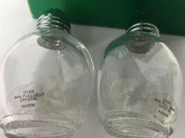 NEW AVON ~Crystal Hummingbird Salt & Pepper Shakers image 3