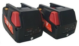 2X Banshee replaces Milwaukee V18 18V Model 48-11-1830 Lithium ion Battery - $114.77
