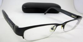 Authentic Guess GU 1305A Black Half-Rimless Eyeglass Frames Metal/Nylon 1305 - $29.65