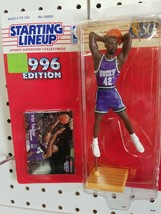 1996 ROOKIE STARTING LINEUP - SLU - NBA - VIN BAKER - MILWAUKEE BUCKS - $12.00