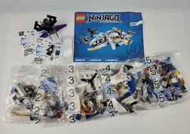 Lego Ninjago Ninjacopter 70724 100% Complete w Mini Figures 4-Sealed Bags - $93.49