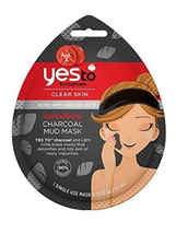 Yes to Tomatoes Charcoal Mud Mask, Single Use Face Mask  - $3.95