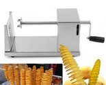 Steel manual twisted potato slicer spiral french fry vegetable cutter kitchen tool thumb155 crop