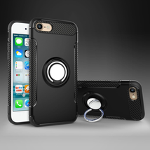 For iPhone 8 and 7 Kickstand Case Ring Holder Magnetic Car Features Holder - $5.66
