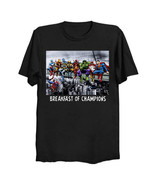 Marvel DC Superhero Skyscraper Lunch T-Shirt *FREE US SHIPPING*  - $29.99