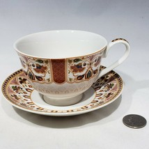 Queens Imari Footed Cup and Saucer Coffee Tea Choose Single, Set of 2, S... - $9.95+