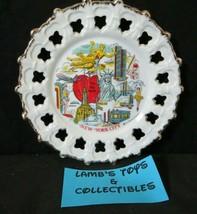 "Enco New York City 1977 The Big Apple 7"" diameter souvenir wall hanging ... - $18.99"