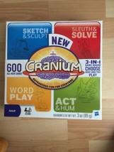 Cranium Hasbro Board Game 3-in-1 2009 Opened Never Used Family Fun - $31.46