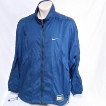 VTG Nike Windbreaker Jacket Athletics 90s Swoosh Track Running Coat Jord... - $39.99