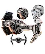 star Wars series The Force Awakens TIE Advanced Prototype DIY Bricks  35... - $28.05