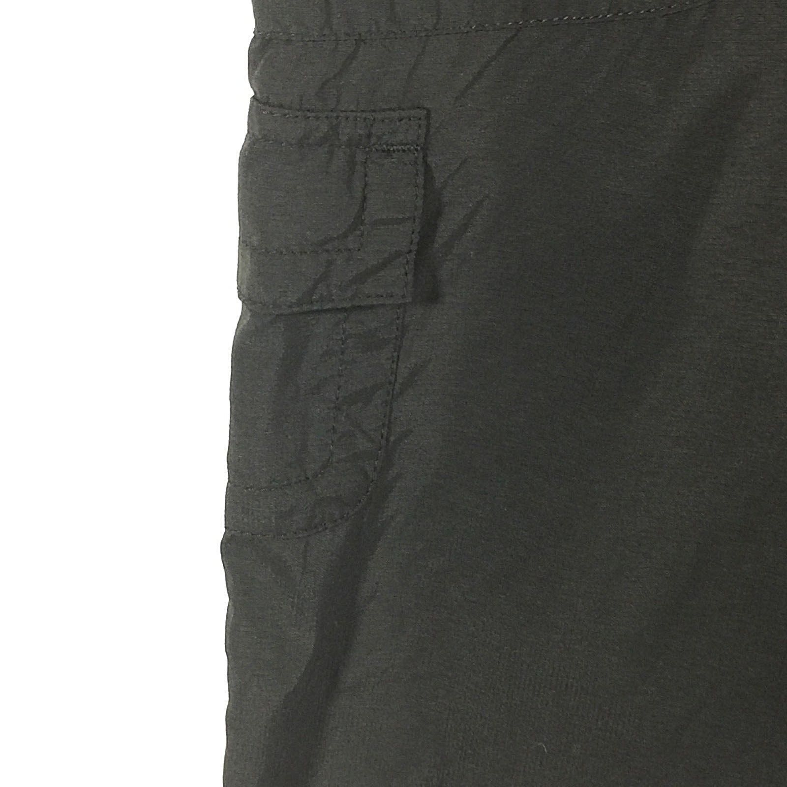 North Face Womens Cargo Crop Bermuda Size 10 Black Pants